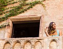 Nottinblu Luxury lifestyle shoot around Italy.