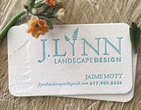 J Lynn Lancscape Design Branding