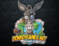 DonkeyGames Rebrand