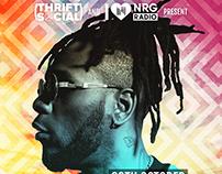 Thrift Social: Burnaboy Poster