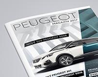 Peugeot Magazín 2017