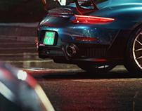 Porsche GT2 RS full CGI