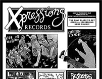 Xpression Records Promotional Advertisement