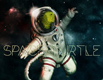 Space Turtle - Personal illustration