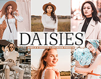 Free Daisies Mobile & Desktop Lightroom Presets