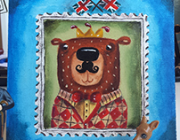 Bear Stamp
