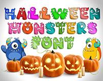 Halloween Monsters Font