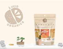 Lucid Organics Dried Fruits Packaging