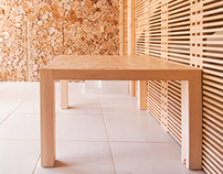 wooden furniture and interior design by Eduard Pais