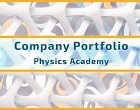 Company Portfolio - Physics Academy