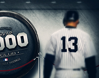 Alex Rodriguez 3,000 Hits