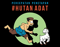 UJANG & KAMBING ILLUSTRATION