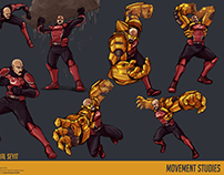 Corporal Seyit (Character Movement Studies)
