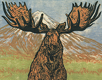 "WoodCut ""Moutain King"""