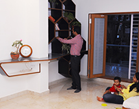 Interiors for Mr and Mrs Badami residence at Hubli
