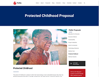 Protected Childhood Page - Politic WordPress Theme