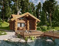Log House B3