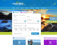 Viagem Listo! Website Redesign