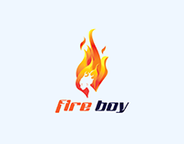 Fire boy logo