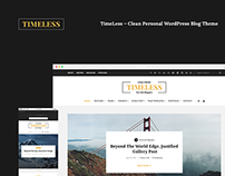 TimeLess – Clean Personal WordPress Blog Theme