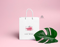 Design logo & paper bags Linh fami beautycare