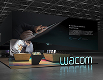 * WACOM * Exhibition stand *