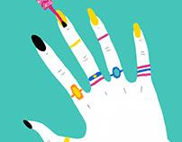 Nails Gif