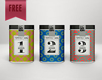 FREE Metal Packaging Mockup Sample