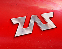 "Концепт логотипа для компании ""ZAZ Ukraine"""