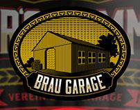 Brau Garage Label Design