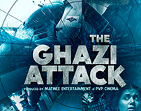 THE GHAZI ATTACK (Movie poster)
