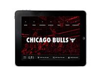Chicago Bulls iPad App