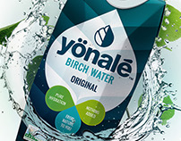 Yönalé Birch Water branding & packaging