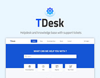 TDesk - Helpdesk and support tickets