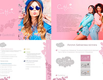 Cettua.Korean Cosmetic Brand. Identity. Guidelines
