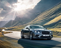 Bentley Continental Supersports - Retouching