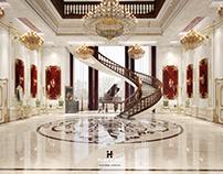 "Luxury Hall Interior "" Qatar """