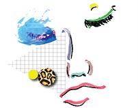 80/s Illustrations