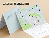 Festival Lusofest 2018 - Posters and Pictograms