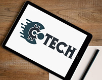 C Tech Logo Design