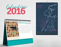 Calendário 2016 Matchbox