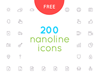 Free download nanoline icons