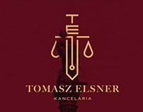 Tomasz Elsner Kancelaria - Law Office visual identity