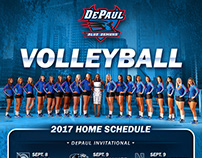 DePaul Fall Sports Schedule