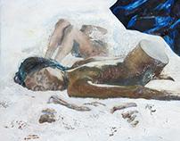"""Oasis"", oil on canvas"