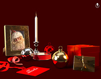 Merry Christmas - created in Adobe DImension CC