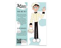 M.Gallier Leaflet Ads