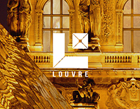 Musee du Louvre Brand Book