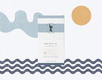 Baby Skincare range Packaging