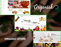 Organisk - Multi-Purpose Organic PSD Template